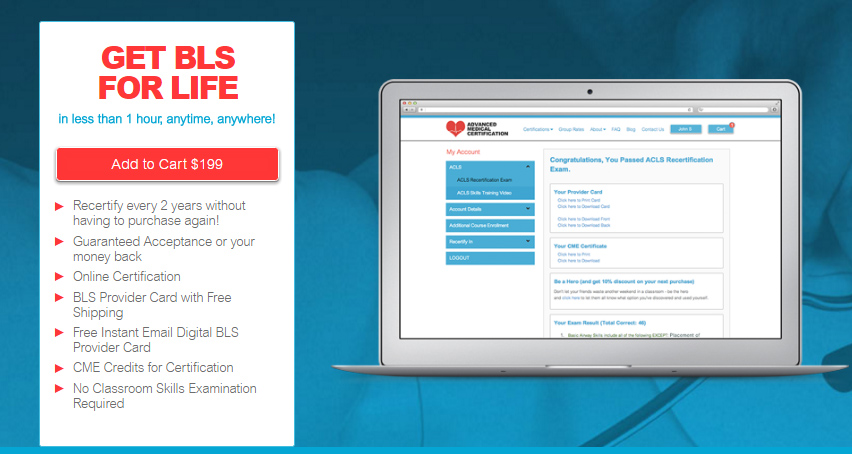 bls certification support basic