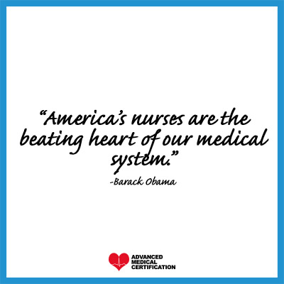 quotes to inspire you to be a leading nurse Barack Obama