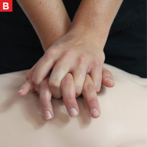 Adult CPR Chest Compressions