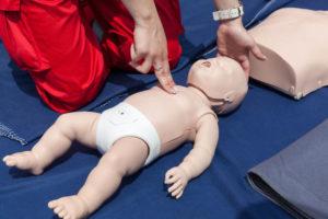 cpr-infant-dummy
